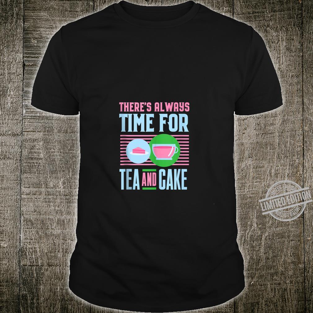 Teas Mom Tea and Cake Shirt