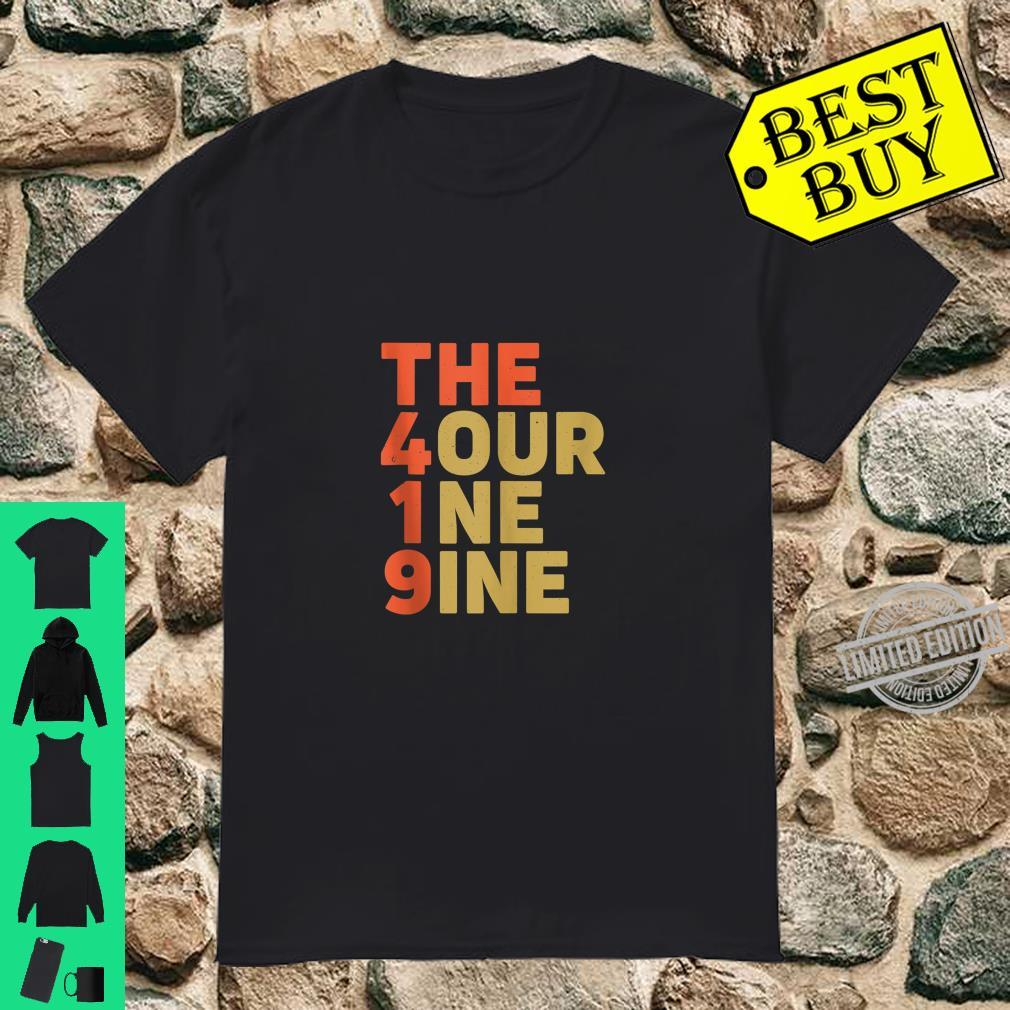 The 419 Four One Nine Toledo Hills Ohio City Area Code Shirt