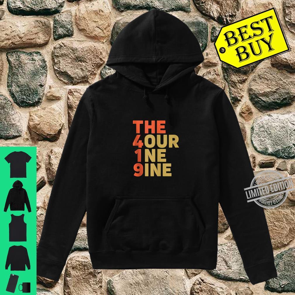 The 419 Four One Nine Toledo Hills Ohio City Area Code Shirt hoodie