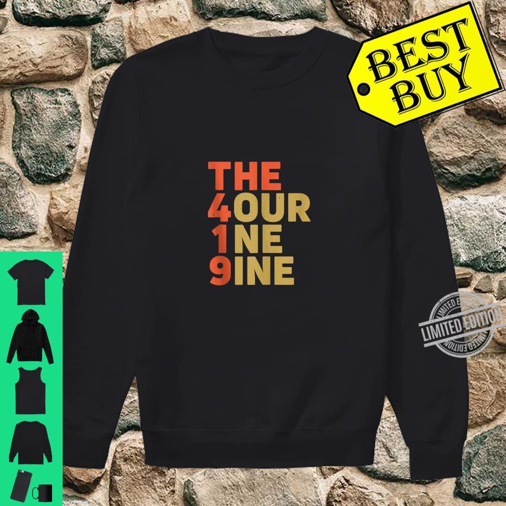The 419 Four One Nine Toledo Hills Ohio City Area Code Shirt sweater