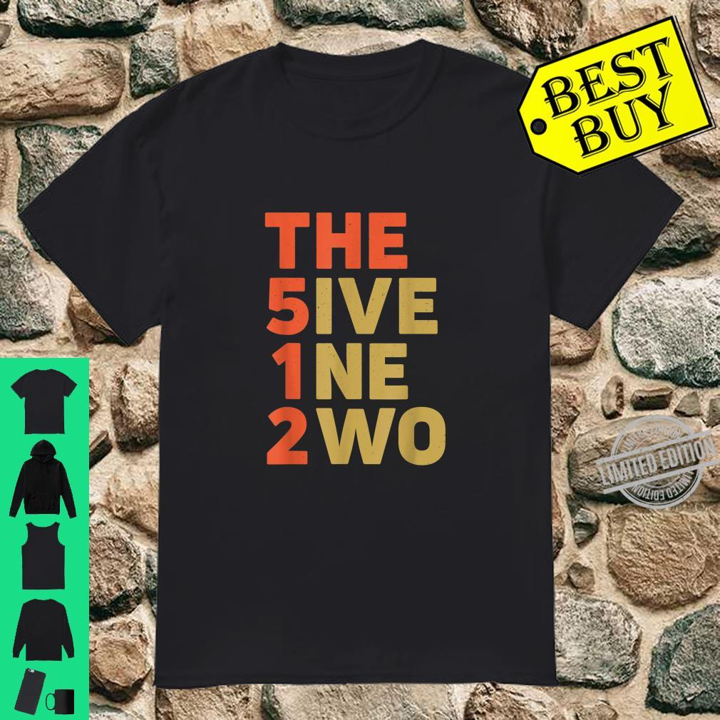 The 512 Five One Two Austin Texas Blues City Area Code Shirt