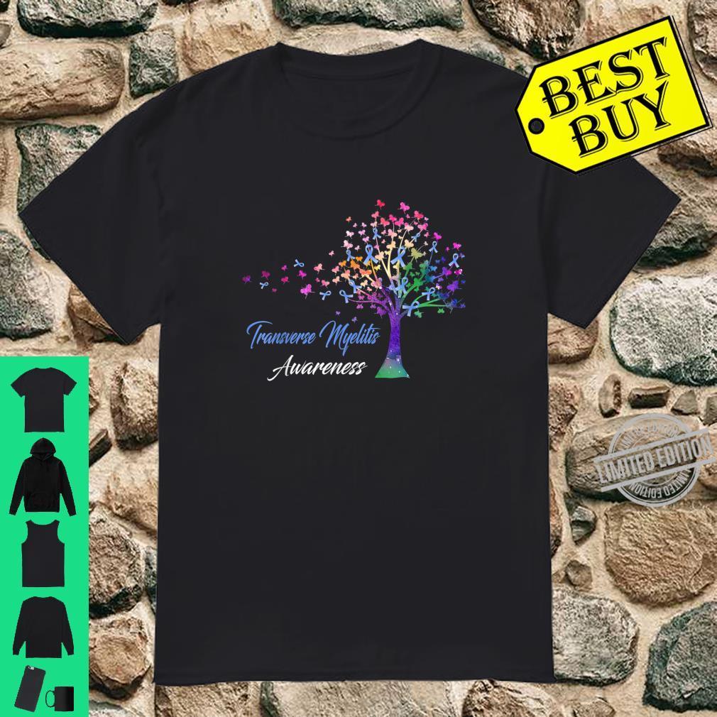 Tree Ribbon Transverse Myelitis Awareness Shirt