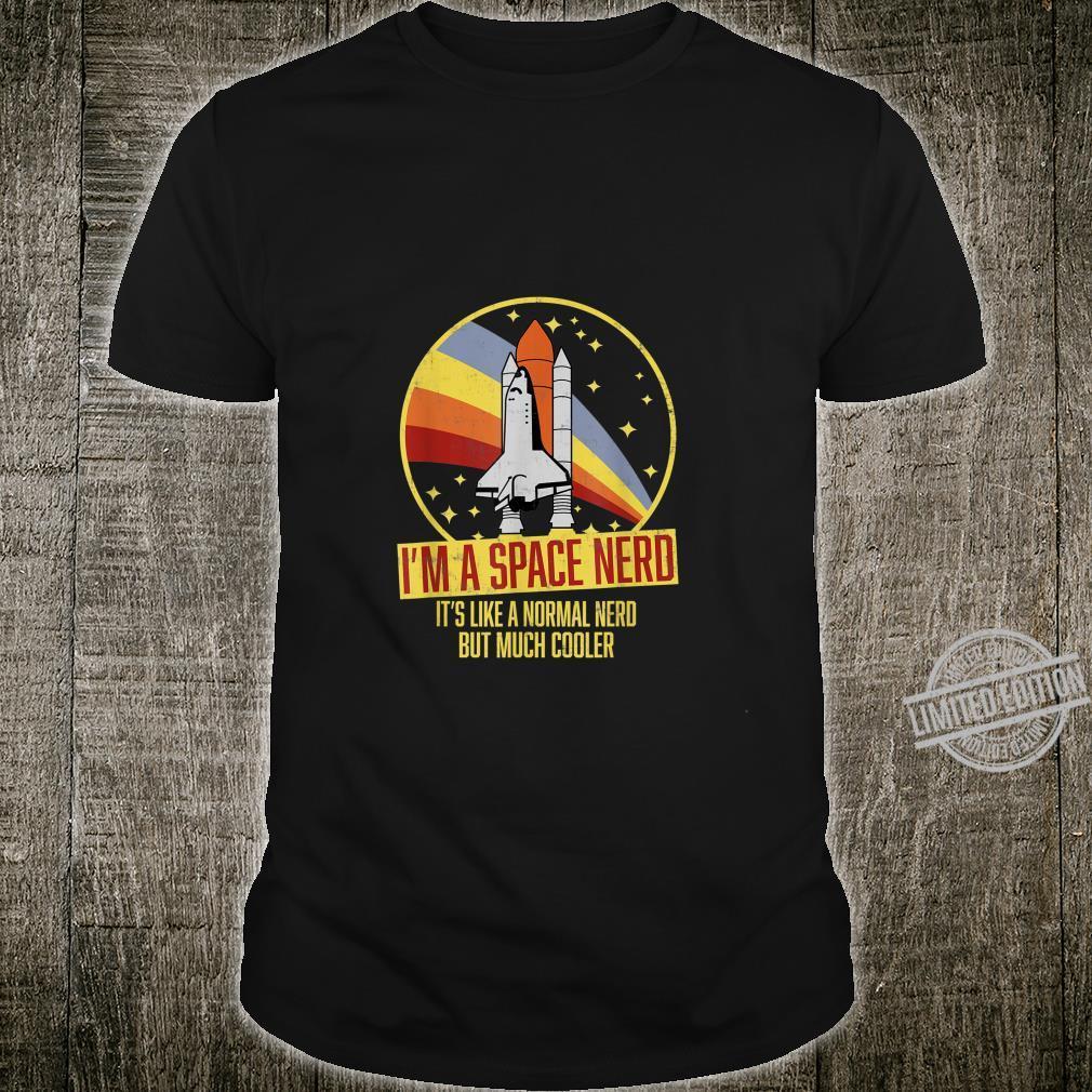 Vintage Astronomen Space Nerd Shirt