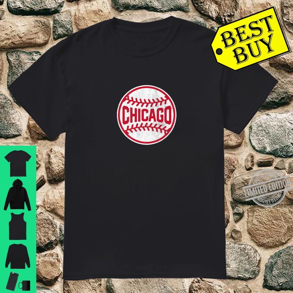 Vintage Chicago Baseball Stitches Shirt