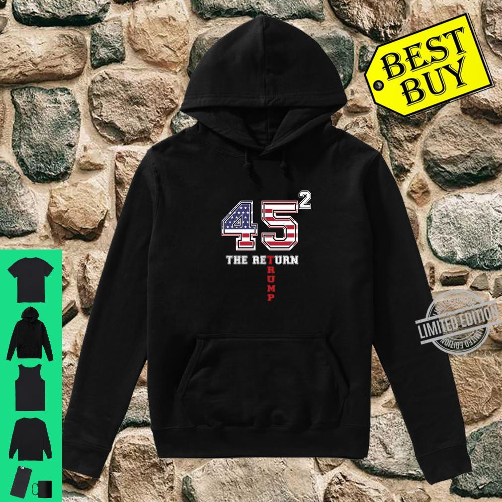 Vote Donald Trump 45 Presidential Elections 2020 Shirt hoodie
