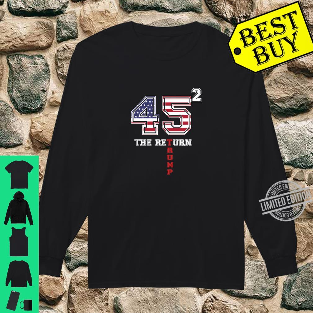 Vote Donald Trump 45 Presidential Elections 2020 Shirt long sleeved