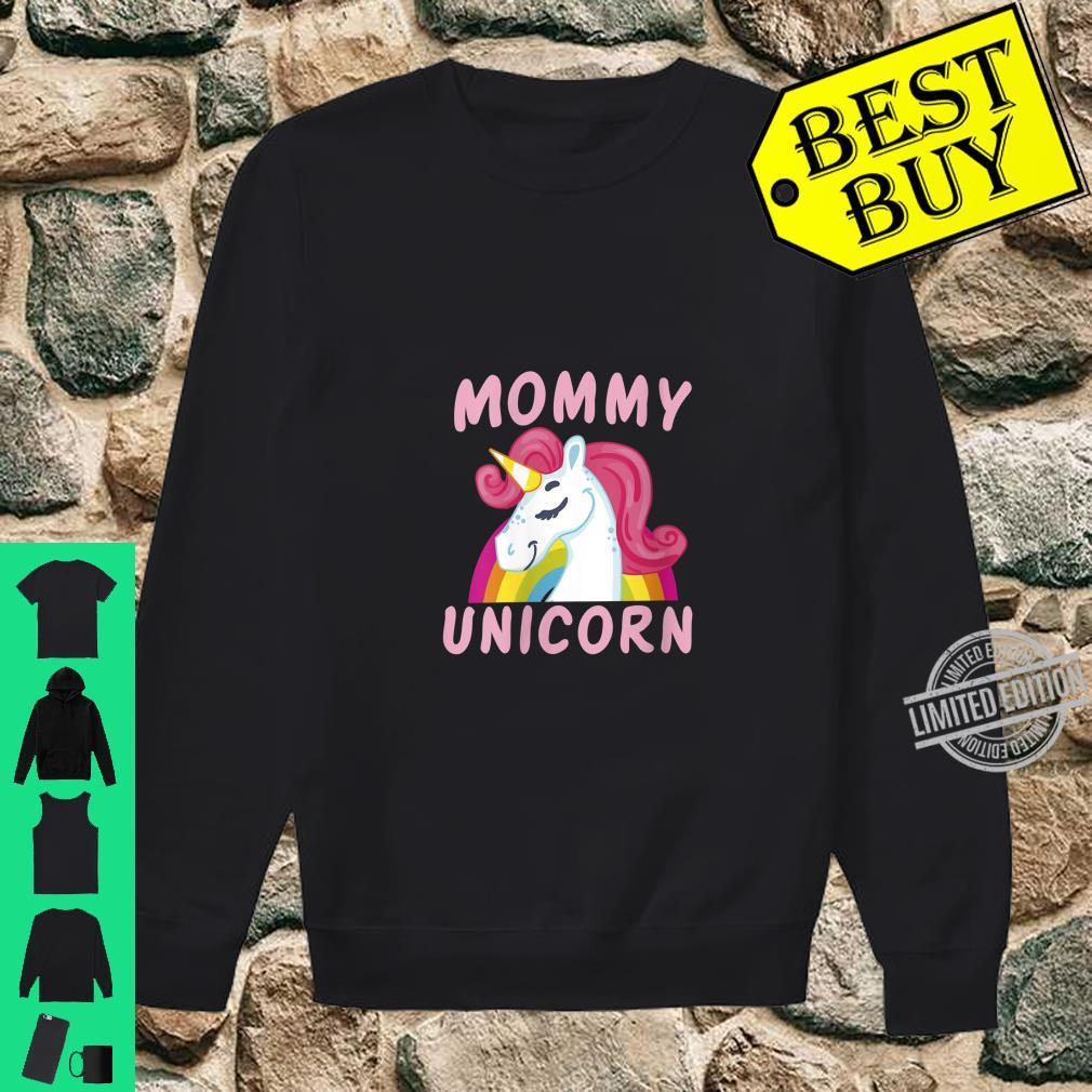 Womens Birthday Mommy Unicorn Cute Unicorns Bday Team Shirt sweater